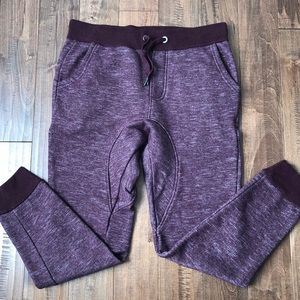 Prince and Fox plum joggers size S Aeropostale